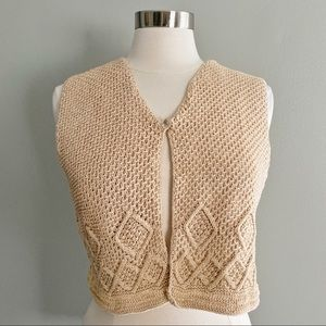 A Line Anne Klein Knitted Vest Size Small